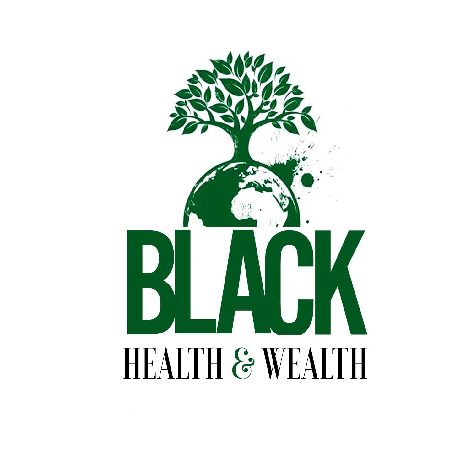 Black Health and Wealth Logo