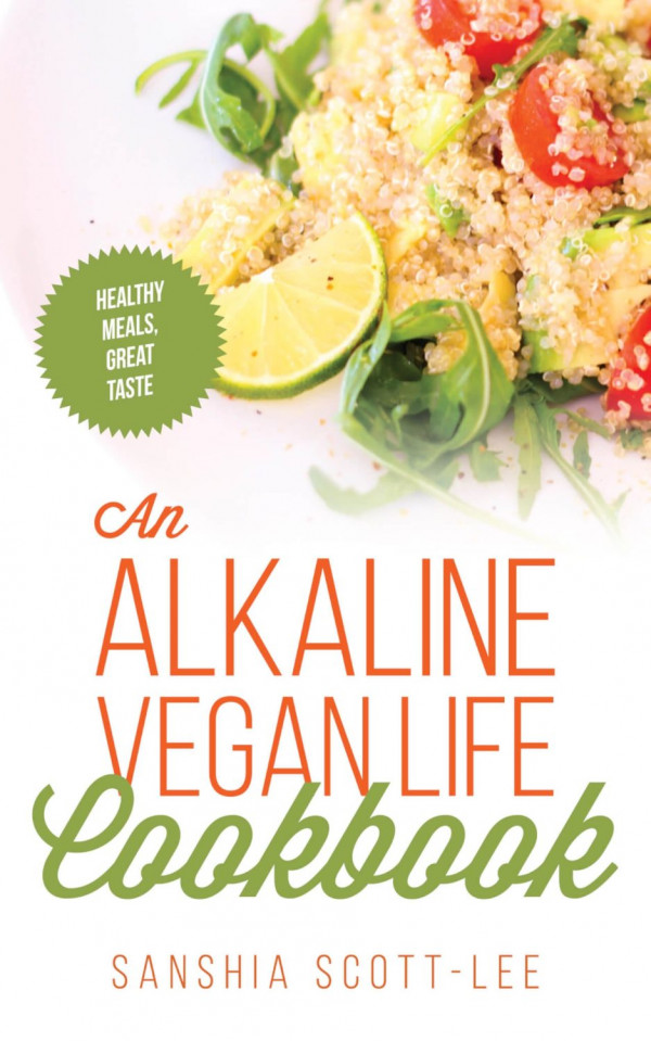 An Alkaline Vegan Life Cookbook Cover