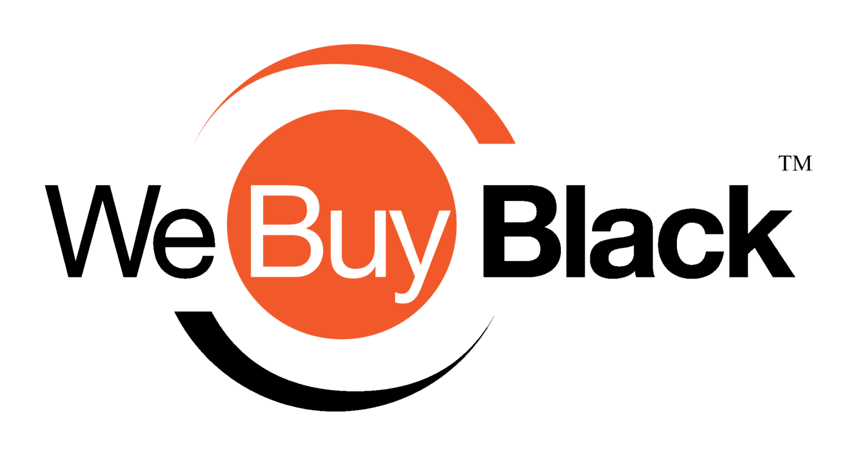 we buy black logo